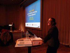 Prof. Susan Franck presents at APEC meeting in Korea.